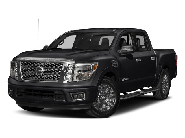 2017 nissan titan 4x4 crew cab platinum reserve in cary nc nissan titan leith nissan of cary. Black Bedroom Furniture Sets. Home Design Ideas