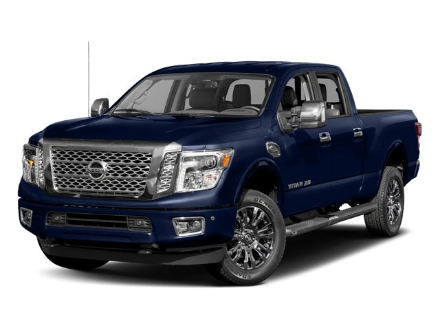 2017 nissan titan xd 4x4 diesel crew cab platinum reserve in cary nc nissan titan xd leith. Black Bedroom Furniture Sets. Home Design Ideas