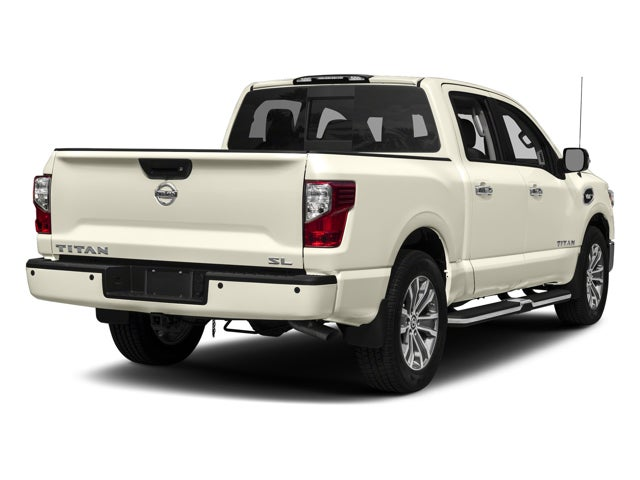 2017 nissan titan 4x4 crew cab sl in cary nc nissan titan leith nissan of cary. Black Bedroom Furniture Sets. Home Design Ideas