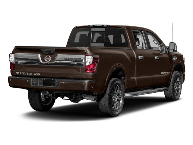 2017 nissan titan xd 4x4 gas crew cab platinum reserve in cary nc nissan titan xd leith. Black Bedroom Furniture Sets. Home Design Ideas