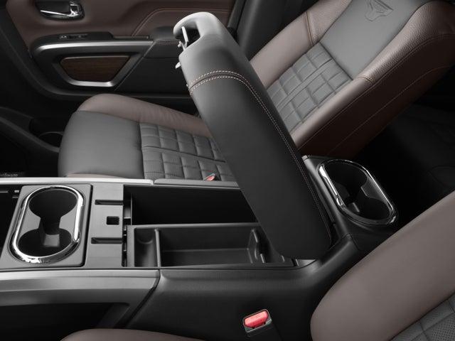2017 Nissan Titan Xd 4x4 Gas Crew Cab Platinum Reserve In