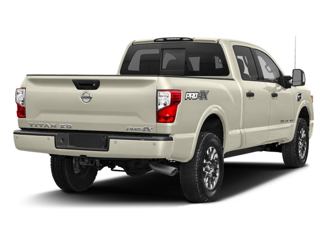 2017 nissan titan xd 4x4 diesel crew cab pro 4x in cary nc nissan titan xd leith nissan of cary. Black Bedroom Furniture Sets. Home Design Ideas