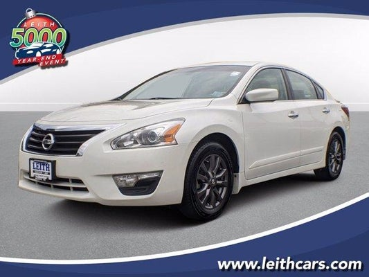 2015 Nissan Altima 4dr Sdn I4 2 5 S In Cary Nc Nissan Altima Leith Nissan Of Cary 1n4al3ap5fc567455